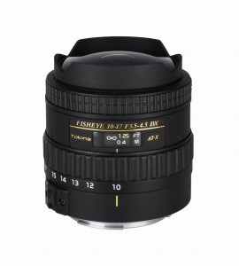 AF 10-17mm f.3.5-4.5 AT-X 107 DX Fisheye Canon