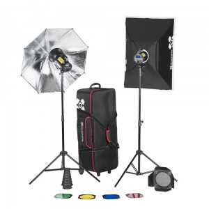 Quadralite Move X 400 KIT zestaw lamp + Navigator Kit