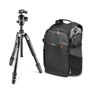 Manfrotto Befree GT + plecak Manfrotto Advanced Befree
