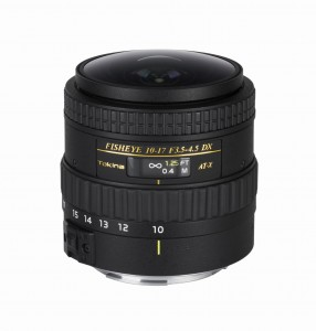 Tokina AF 10-17mm f.3.5-4.5 AT-X 107 DX NH Fisheye Canon