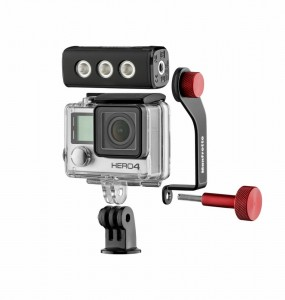 Zestaw Manfrotto OFF ROAD LED do GoPro