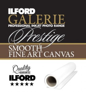 ILFORD GALERIE Prestige Smooth Fine Art Canvas GPSFAC (375gsm)  61,0cm x 15,2m roll