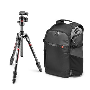 Manfrotto Befree Advanced Carbon + plecak