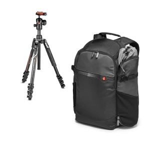 Manfrotto Befree Advanced Alpha + plecak Manfrotto Advanced Befree