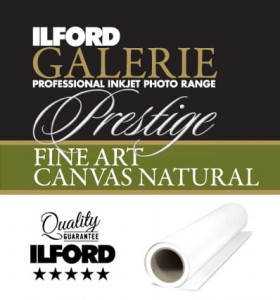 ILFORD GALERIE Prestige Canvas Natural GPCN (340gsm)  43,2cm x 12,0m  roll