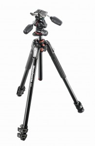 Manfrotto MT190XPRO3 z głowicą X-PRO 3-Way