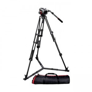 Statyw Manfrotto VIDEO PRO 546GB, głowica 504HD i torba